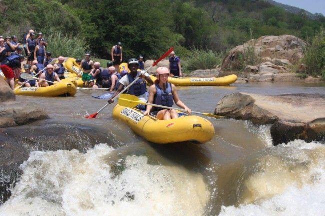 White Water Rafting in Swaziland with Dirty Boots and Swazi Trails