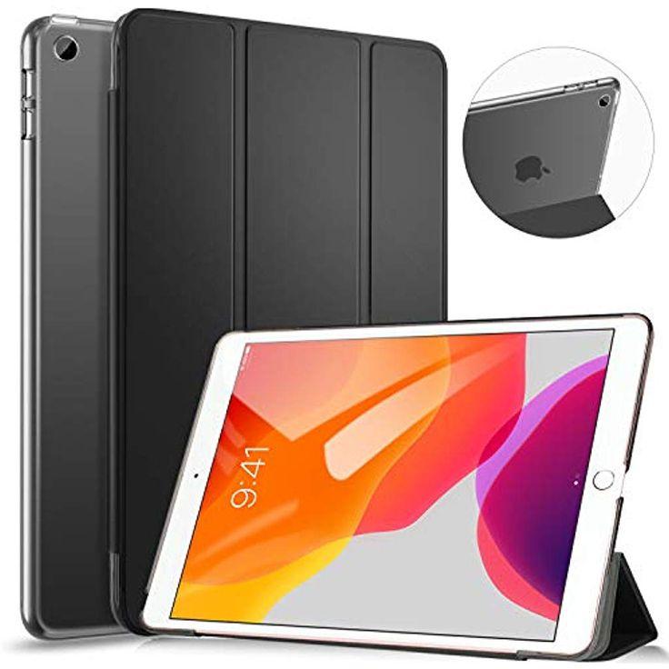 Ztotops Hülle für iPad 10.2 2019 Ultradünnes Smart Case mit Transluzent Rück…
