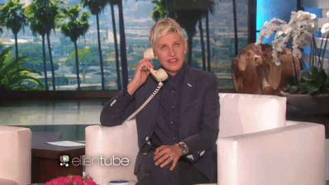 Ellen's Guest Flips Out In Front Of The Audience, Then She Looks Behind Her And Sees It...