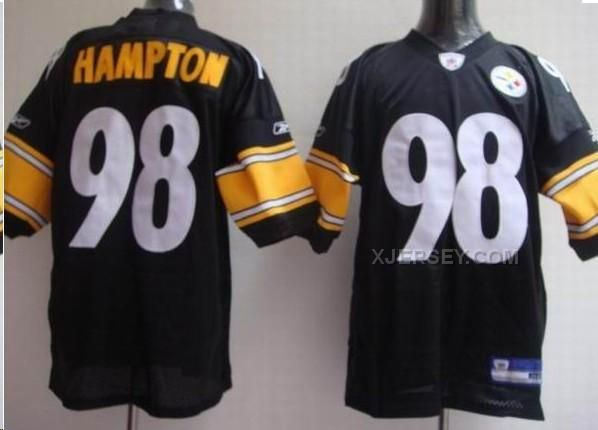 http://www.xjersey.com/pittsburgh-steelers-98-casey-hampton-black-jerseys.html Only$34.00 PITTSBURGH STEELERS 98 CASEY HAMPTON BLACK JERSEYS #Free #Shipping!