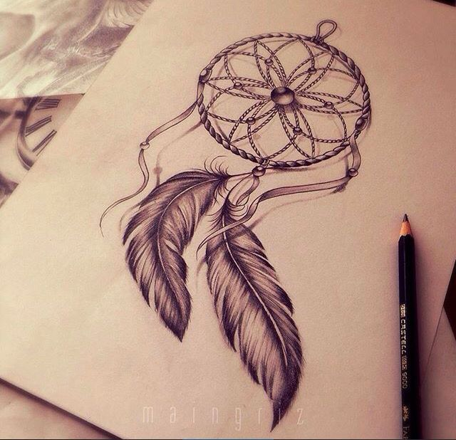attrape r ve tatoo tatouage dreamcatcher tatouage. Black Bedroom Furniture Sets. Home Design Ideas