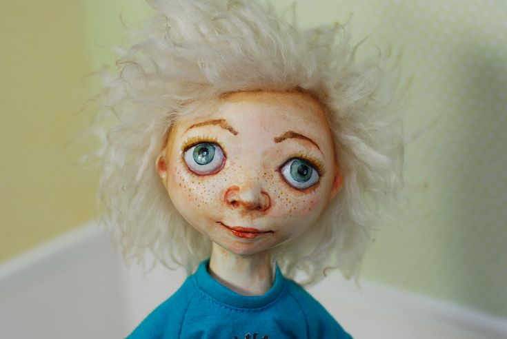 150$ + shipping, Peter made by Elena Ovcharova, ooak art doll