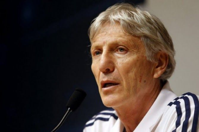 Colombia Selection: Rueda de prensa - José Pékerman Colombia vs Serbia (13/08/2013)