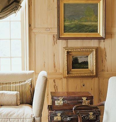 Pecky Cypress Paneling