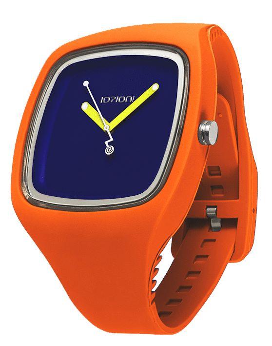 IOION BIG in Neon Orange http://www.italcompany-ioion.nl/ioion-big-fashion-horloge-fluo-orange-arancia-ionwat307.html