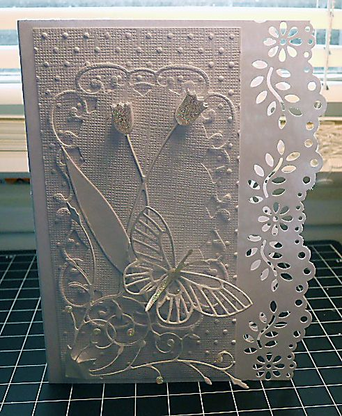 White on White by RIRed2 - Cards and Paper Crafts at Splitcoaststampers