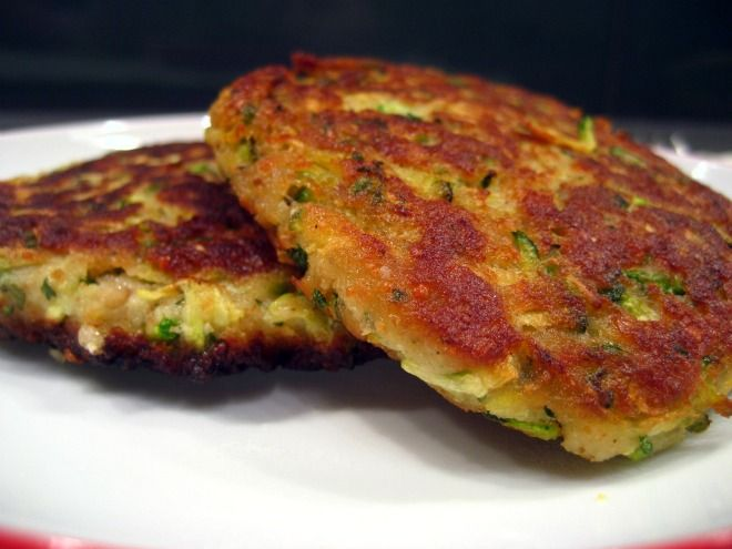 Zucchini Fritters..use almond ground or flour to repace breadcrumbs and extra egg until dairy is tolerated?
