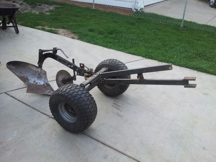 17 best images about atv trailers on pinterest atv plow for Lawn and garden implements