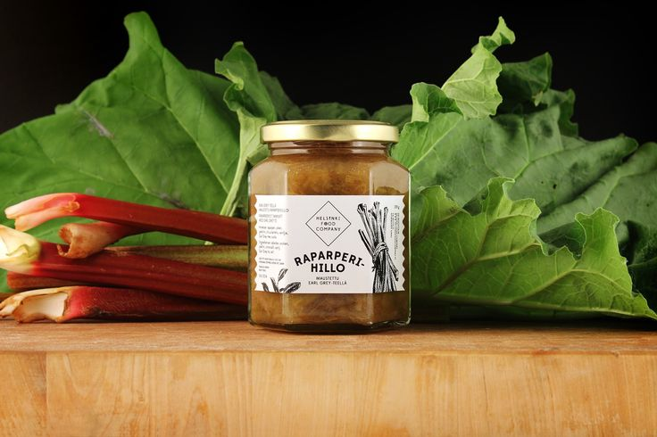 Our very own Rhubarb Jam! Beautiful, what you think?