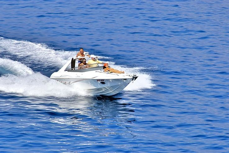 Skim across Budva Bay in a powerboat | Adventurous activities to try in #Budva, #Montenegro | Weather2Travel.com #holidays #travel #beach