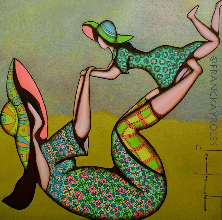 Franck Ayroles, 1975 | Abstract /Mixed media painter | Tutt'Art@ | Pittura…