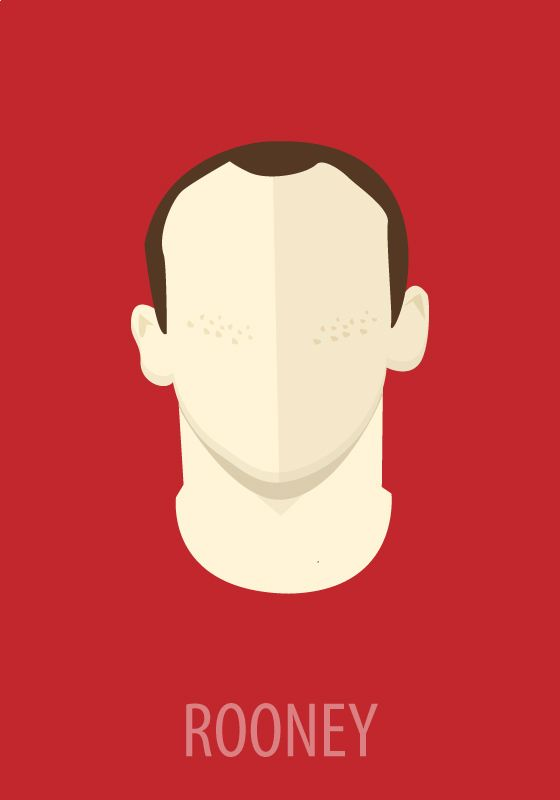 Minimal Sport Heros by Mangoline -Peter Magdy, via Behance