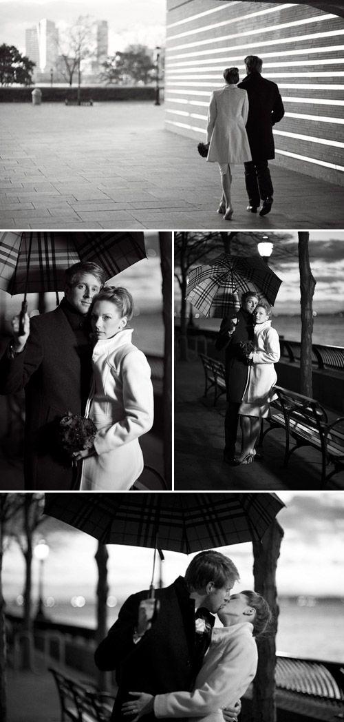 New York City Hall Park wedding, vintage inspired wedding style, photos by Justin Mary Marantz