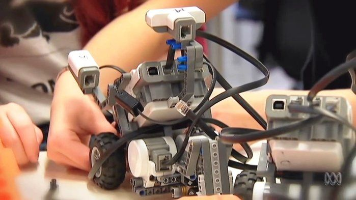Meet the Robot Girls - Technologies (7,8,9,10). Have you heard of Robogals? Meet some girl students that are building and programming their own robots. Did you know that women outnumber men at Australian universities but when it comes to courses like engineering, men outnumber women? That's something Robogals is trying to change!