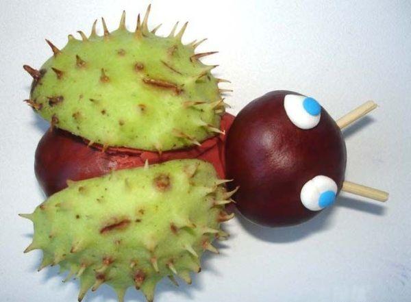 Chestnuts Art - Your Kids Will Love It | www.prakticideas.com