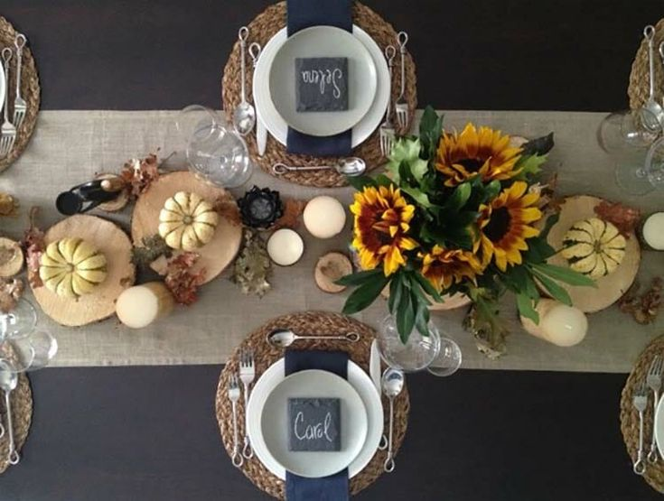 25+ Beautiful And Elegant Centerpiece Ideas For A Thanksgiving Table