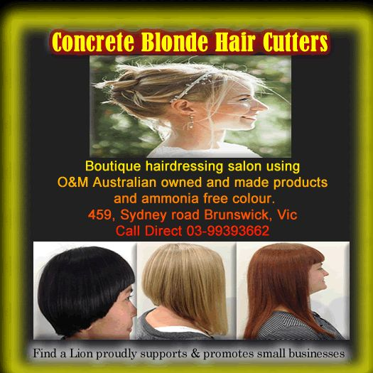 These quality/talented hair dressers can make a difference  Why not lock them in so you could reap the right benefits where ever you are in Australia visit: www.findalion.com.au