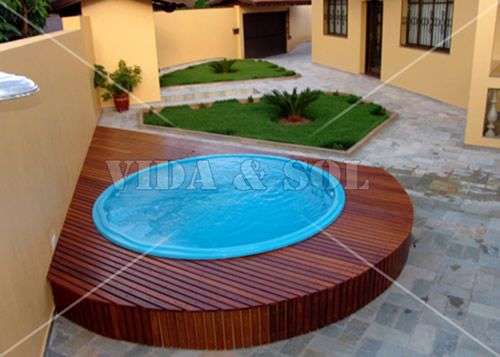 best piscinas images on pinterest backyard and small pools