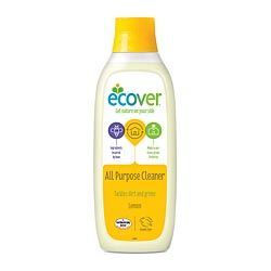 Ecover All Purpose Cleaner 1 lt Tackles Dirt & Grime   - Multi surface cleaner has a fresh perfume from plant based ingredients.  - For effective cleaning with the power of nature.  - With no residue of unnecessary chemicals.  Economical to use - for all washable surfaces, floors, tiles and painted wood