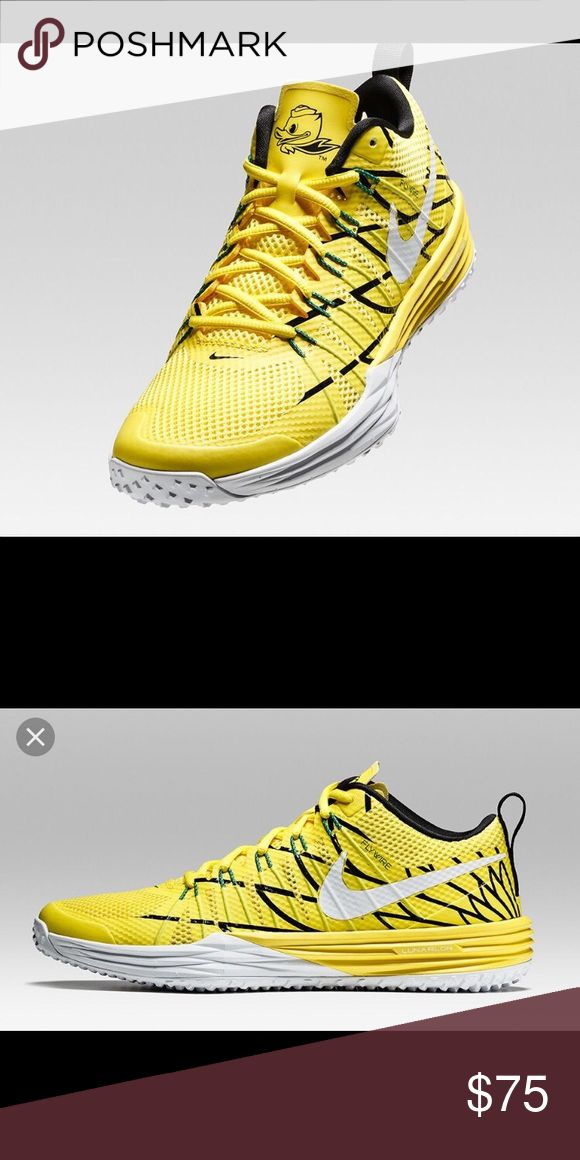 """Nike Lunar TR1 """"Oregon Ducks"""" These are awesome size 13 men's shoe. They are Oregon Duck's shoes. They are NWOT. Nike Shoes Sneakers"""