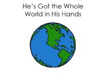 He's Got the Whole World in His Hands Song Book printable