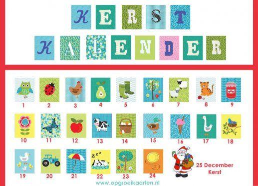 Bekend 26 best aftelkalenders images on Pinterest | Countdown calendar  QS72