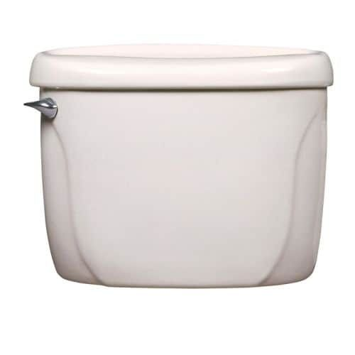 American Standard 4098 1 Cadet Vitreous China Toilet Tank Only With Left Mounted Trip Lever 1 6 Gpf White American Standard China Toilet Dual Flush Toilet