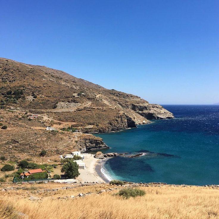 Amazing Greece! Plaka beach, Andros naturally! ☀️ #happyweekend #health #energy #wellbeing #fun #natural #nature #beach #greece #greekisland #greekfood #ελλάδα #enjoy #instagreece #anaxsuperfood #superfood #eatwelllivewell #lovegreece #greecestagram #androsisland #sun #andros #sky #sea #nature_greece #nofilter
