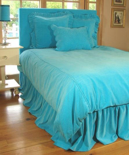 Turquoise Tickles Teen Bedding | Sweet Peaches Bedding  Lilly