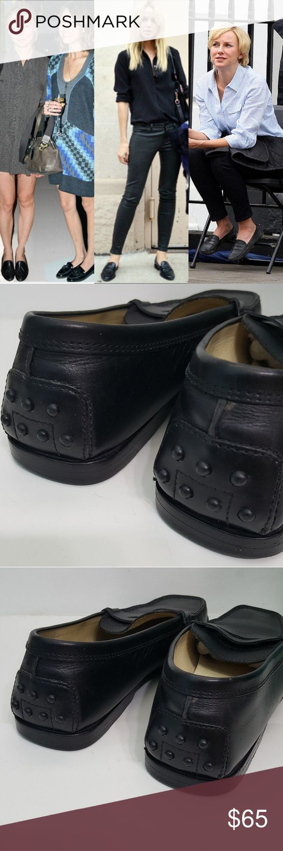 Celebrity Staple Tod's Classic Driving Loafers They last a lifetime. Tod's driving shoe. All leather. All they need is to be polished. Tod's Shoes Flats & Loafers
