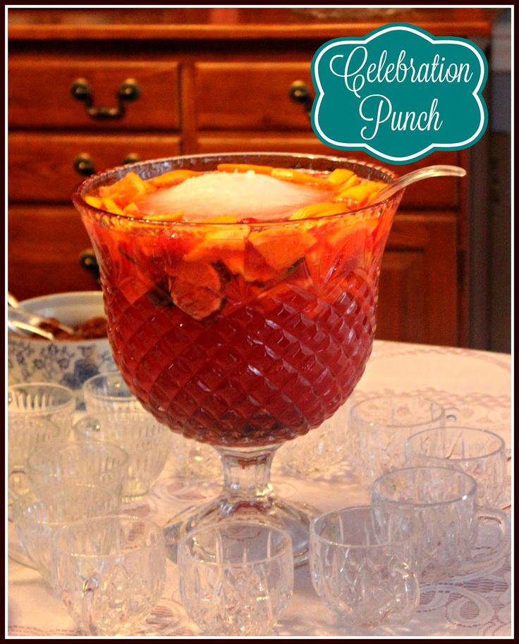 Sweet Tea and Cornbread: Celebration Punch!