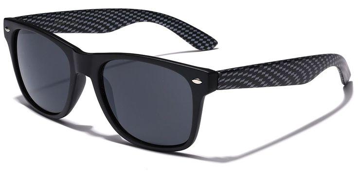 Carbon Fiber Style Retro Fashion Sunglasses
