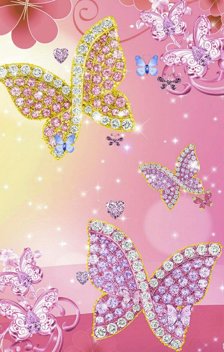 Wallpaper By Artist Unknown Butterfly Wallpaper Iphone Butterfly Wallpaper Flower Phone Wallpaper