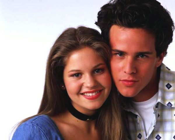 DJ & Steve (Full House). Aww, they were so cute together. :)