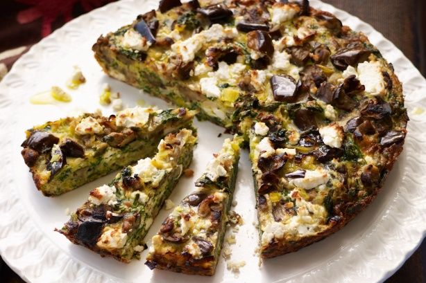 Versions of frittatas and omelettes exist all over the Middle East. Iranians call theirs kookoo (or kuku); elsewhere they are known as eggah. Unlike their European counterparts, these ones are densely packed with vegetables and herbs, and make for great portable fare.