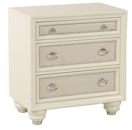 Kane's Furniture - Diamond Cream Nightstand