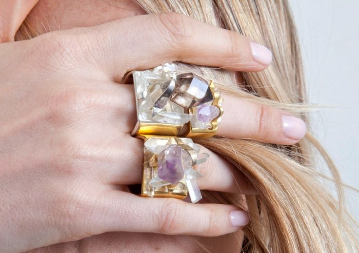 love: Statement Rings, Crystals Rings, Bling Rings, Rocks Candies, Fashion Rings, Jewelry, Jewels, Gemstones Rings, Bling Bling