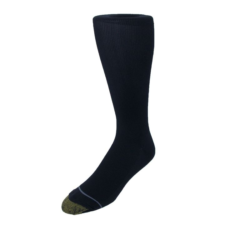 Gold Toe Mens Metropolitan Over the Calf Socks - 3 Pack. Prevents bare legs from showing when sitting