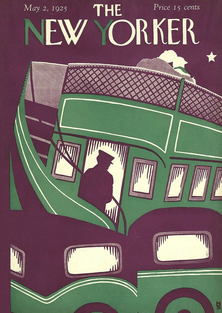 Sleepless in Toronto - the magazine «The New Yorker» for 1925. Start.