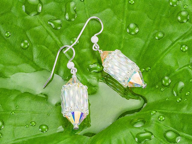 Faroles! Fáciles Fairy Lantern Earrings, charming, OR use the lantern as pendant, dangles for necklaces and charms for bracelets.
