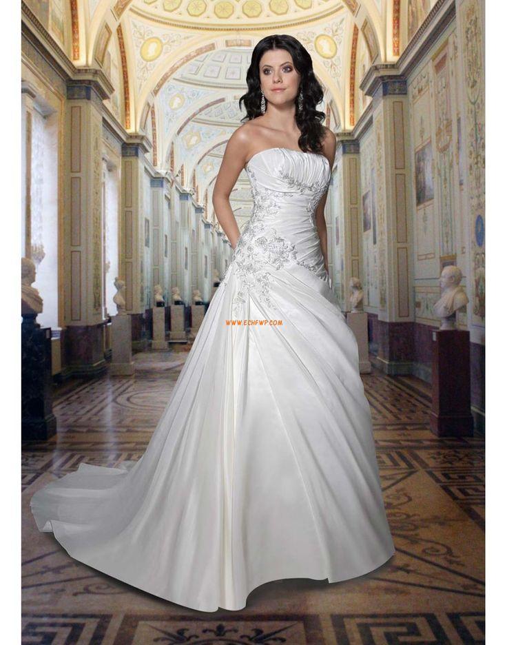 Frühling 2014 3/4 Arm Reißverschluss Brautkleider 2014