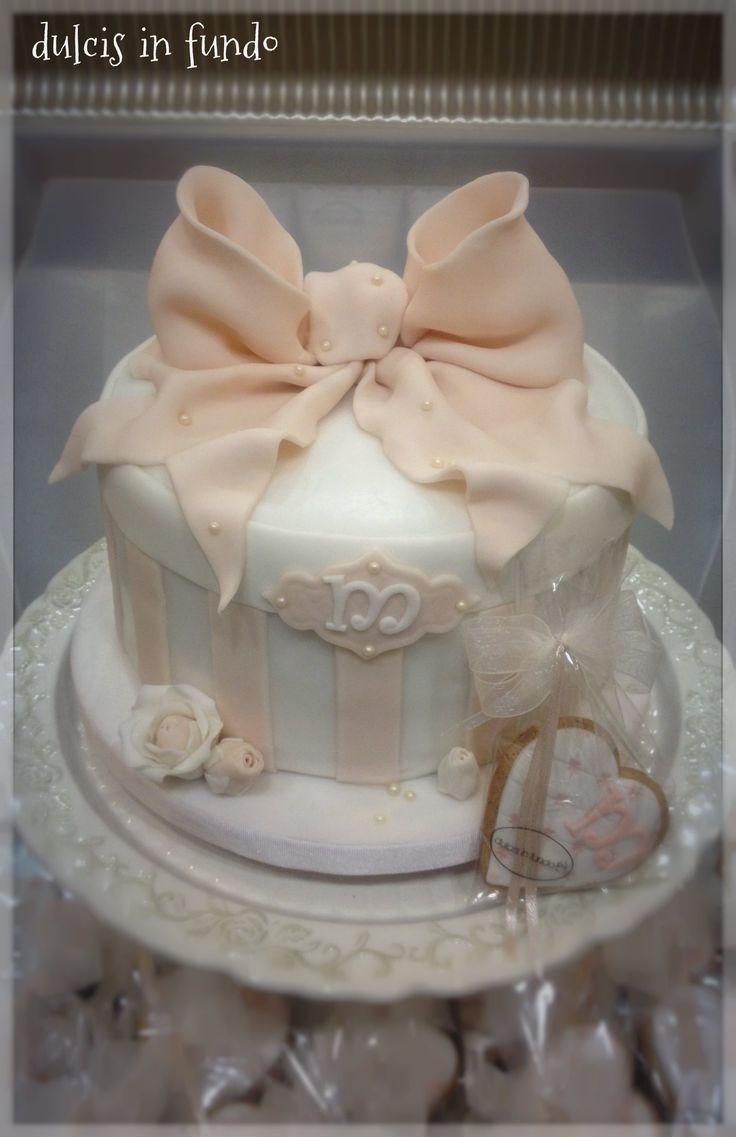 Romantica Cake per un giovane compleanno: Habby Birthday Manuela! by dulcis in fundo