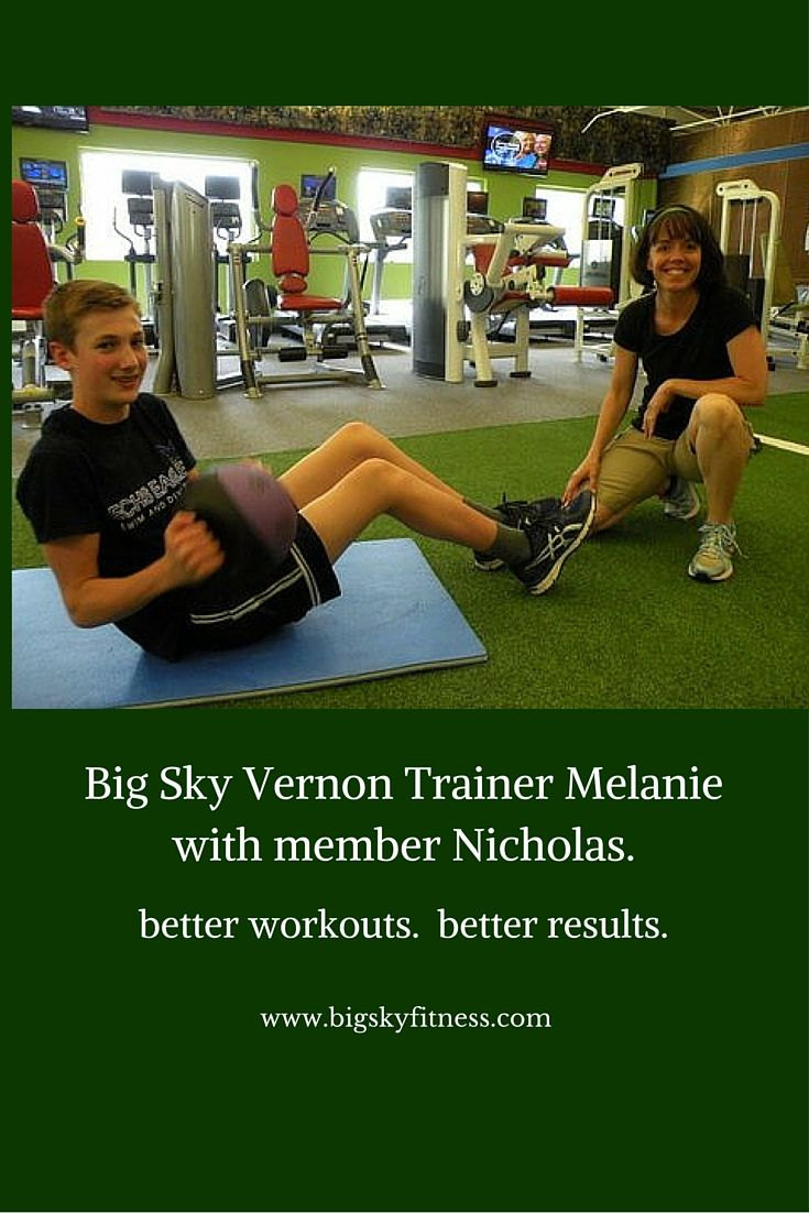 Training at Big Sky Vernon.  #betterworkouts #betterresults #bigskyfitness