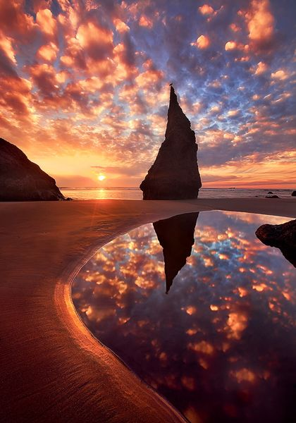 Wizards Hat, Bandon, Oregon: Hats, Wizardshat, Oregon, Nature, Sunset, Place, Wizard S Hat, Photo