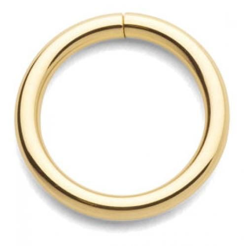 14K Gold - Seamless Rings