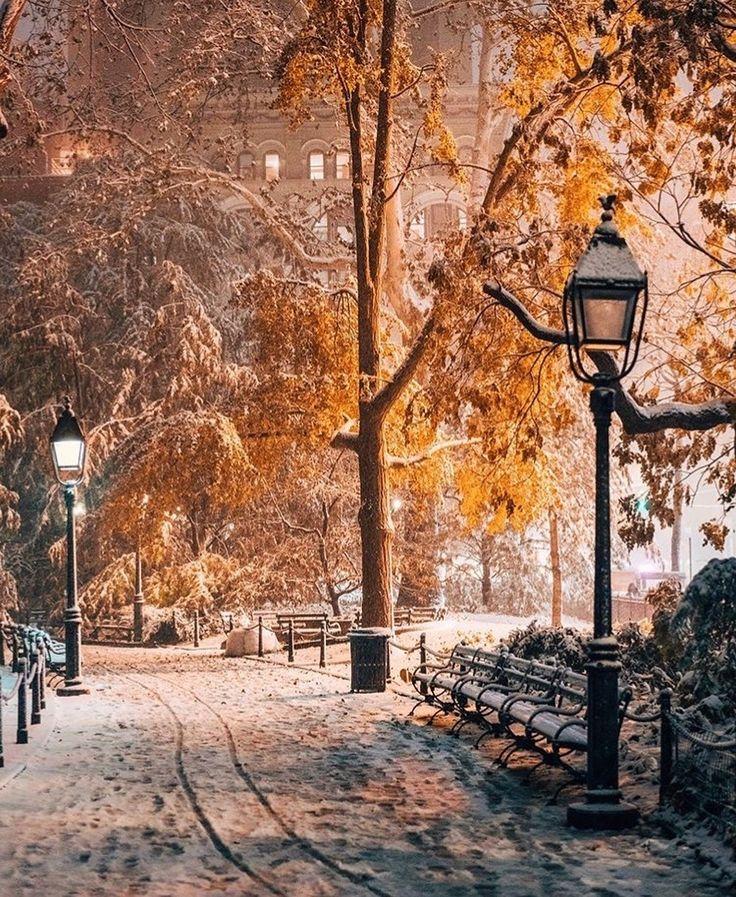 Зимний городской пейзаж картинки вертикальные