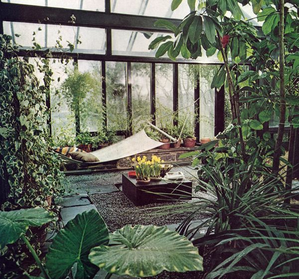 The perfect place to camp out, no rain, and all the clean air you can breathe. Green house as club house.