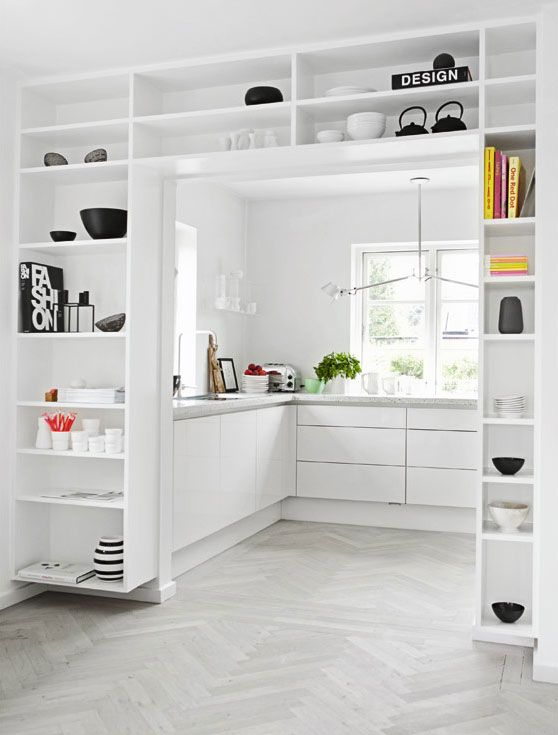 "one more ""library kitchen"" idea"