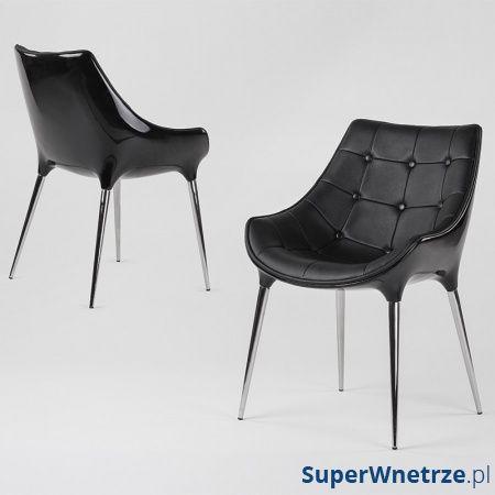 Krzesło King Bath Philippe Passion czarne EV-KA-051.CZARNY