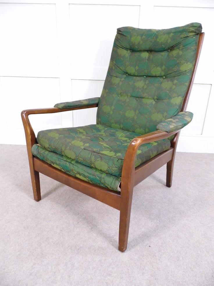 Im Stil der 50er Stühle Leder Stuhl Stühle Vintage Retro ...